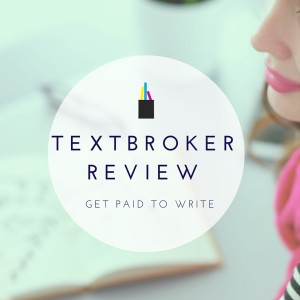 Freelance Writing: Textbroker Review