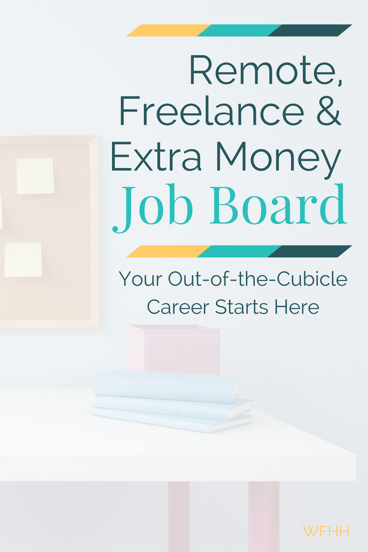 Work From Home & Freelance Jobs