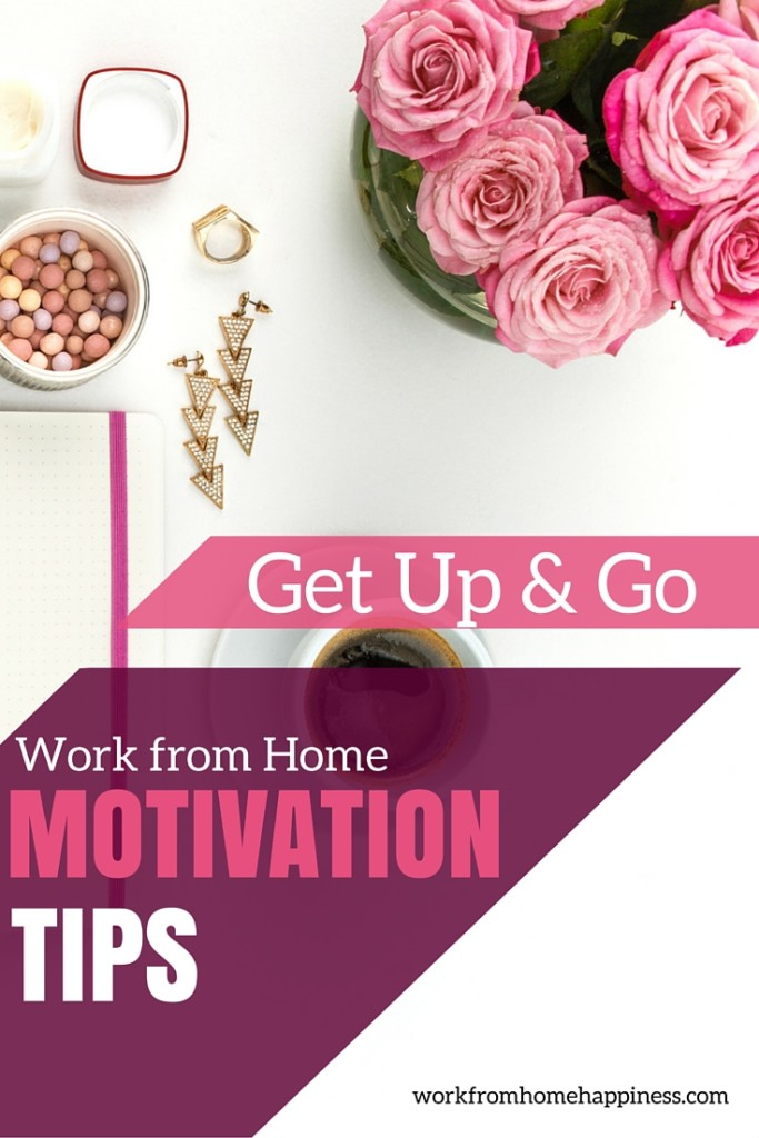 When you work from home, you're bound to feel less than motivated. Check out these tried and true tips to put a little pep in your work from home step!