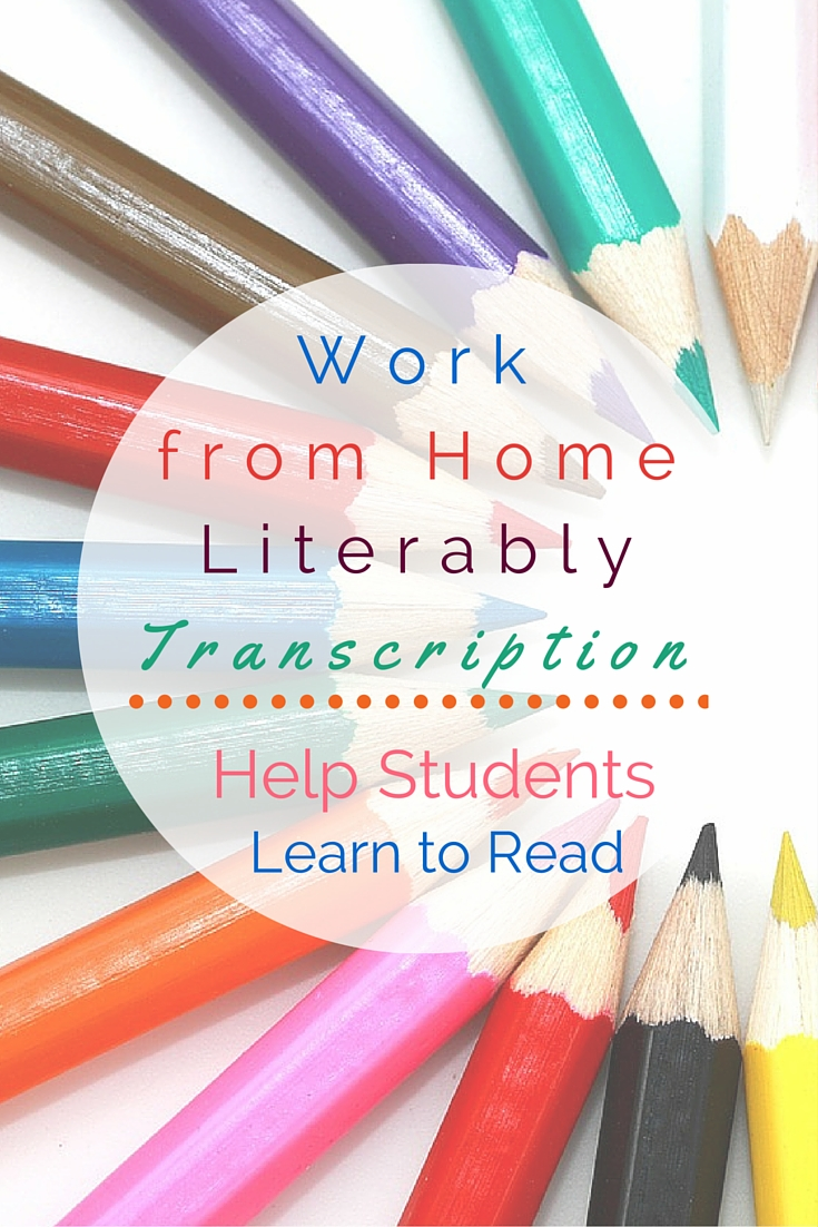 As a work from home Literably Transcriptionist, you'll score audio recordings of children reading out loud. This is a flexible home-based opportunity that helps elementary students learn to read!