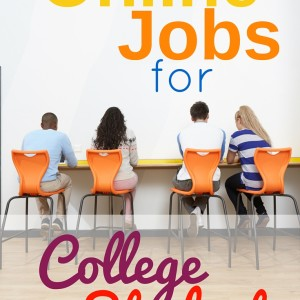 Legitimate Ideas for College Student Jobs Online