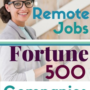 Remote Jobs at Fortune 500 Companies