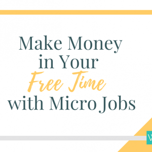Make Money With Micro Jobs