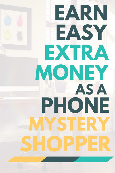 Have kids? Pets? Noisy neighbors? No problem! You can still earn easy extra money from home as a telephone mystery shopper.