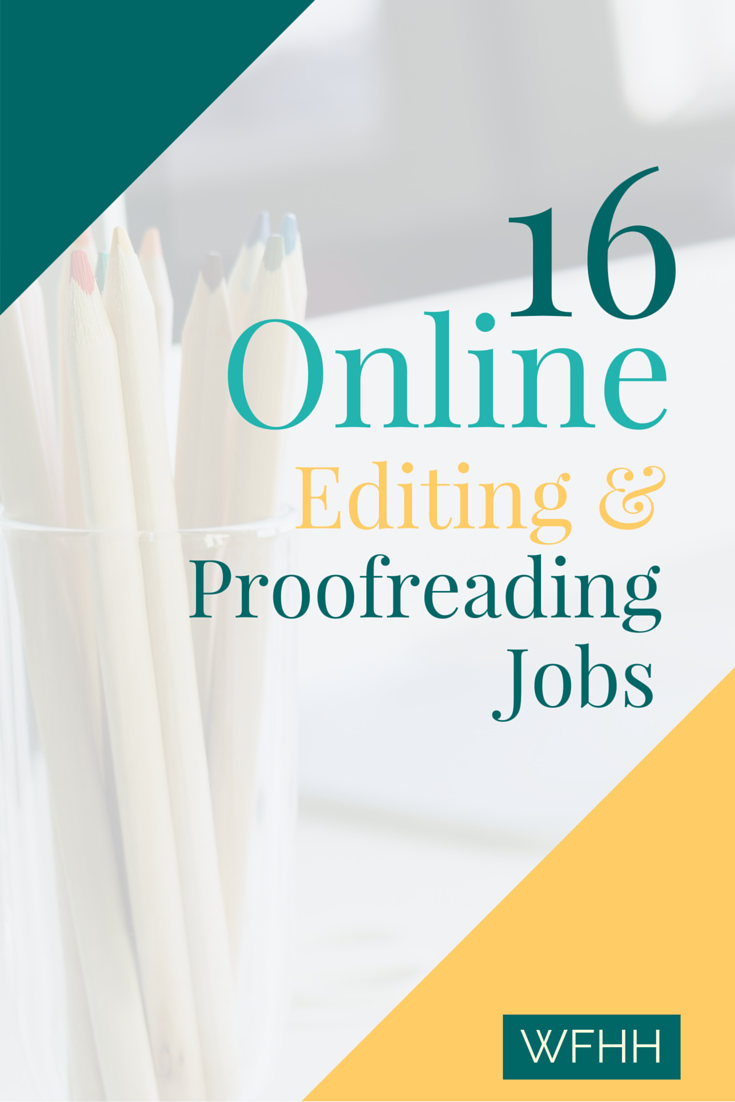 Online proofreading jobs