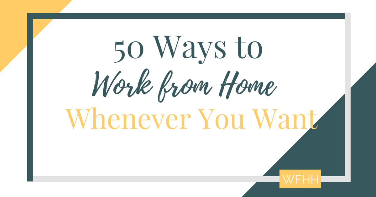 The Moonlighter's Guide to Working From Home