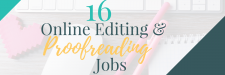 16 Online Editing and Proofreading Jobs