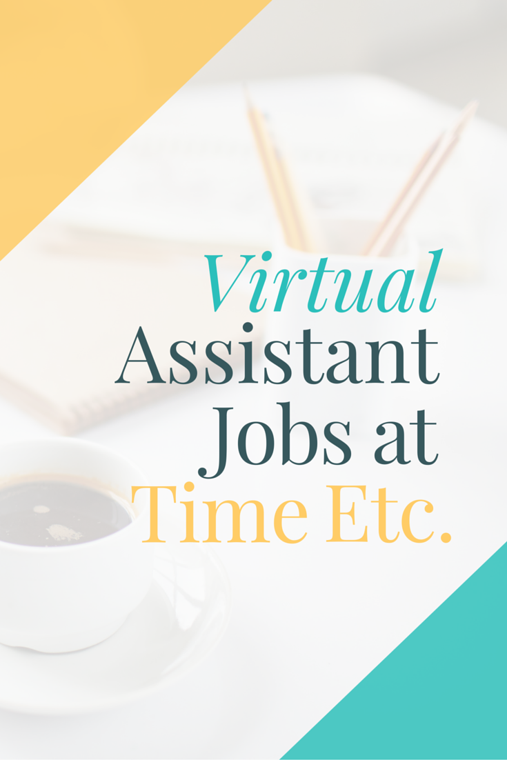 Are you great at getting things done? Help others tackle their to-do lists as a Virtual Assistant for Time Etc. This is a flexible opportunity with four different VA positions to choose from!