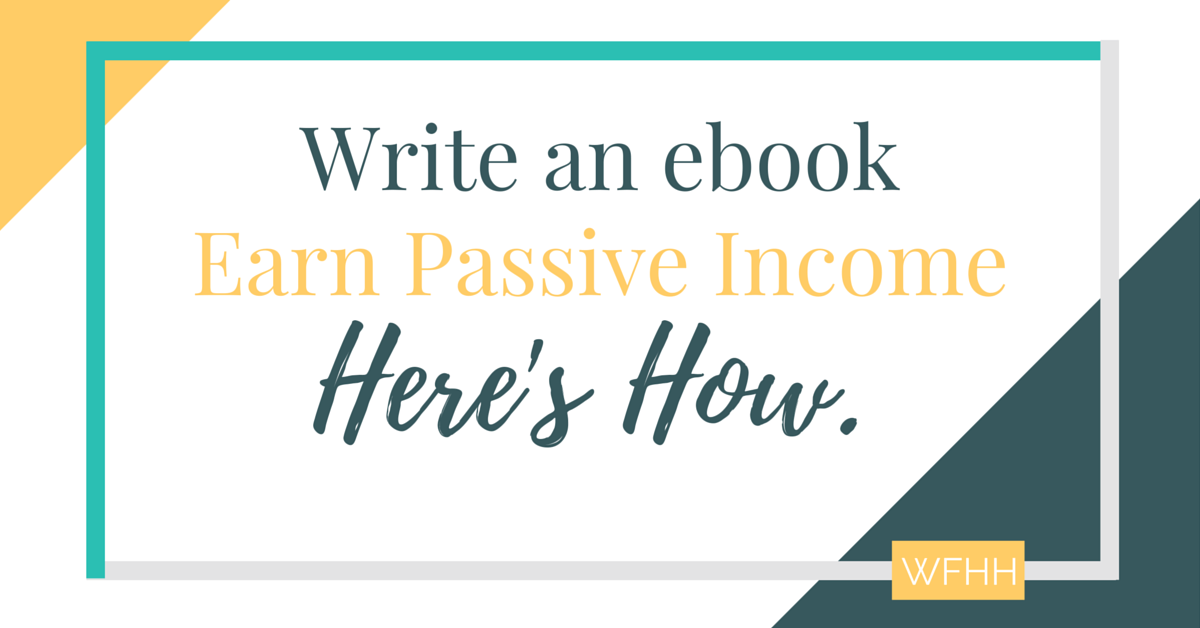 You don't have to be an accomplished author to write an ebook. In fact, you can sit down and write an ebook from start to finish in just 30 days and start earning passive income. Here's how.