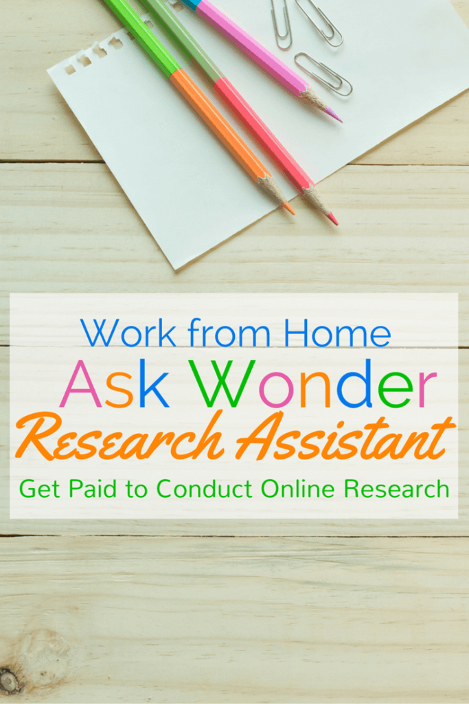 wonder researcher review work from home happiness are you great at online research put your skills to work as an ask wonder