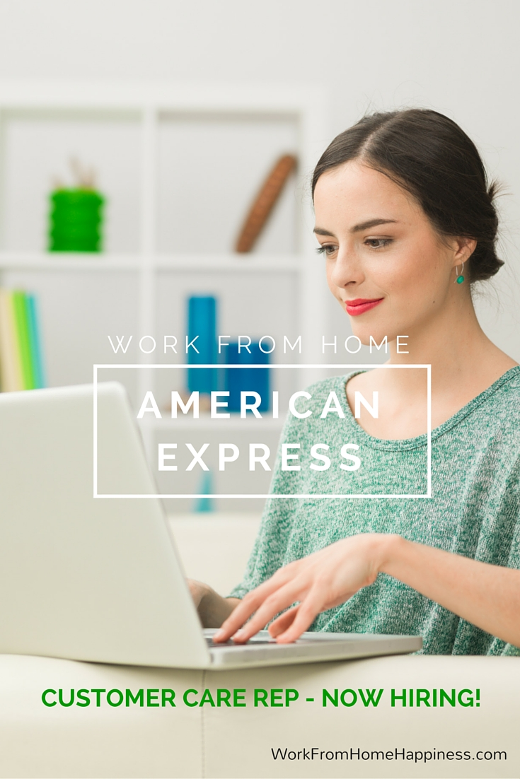 American Express Work From Home Positions