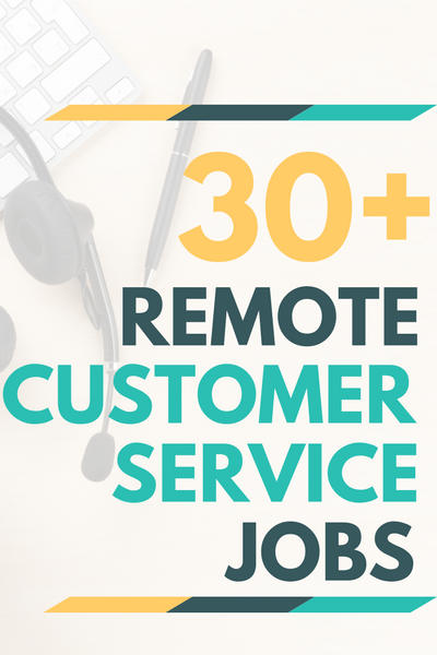 With so many work from home customer service jobs to choose from, you can find an opportunity that perfectly fits into your schedule and gives you plenty of time to take care of your day-to-day responsibilities. Check out this list of 30+ legitimate work from home customer service jobs for your next career!
