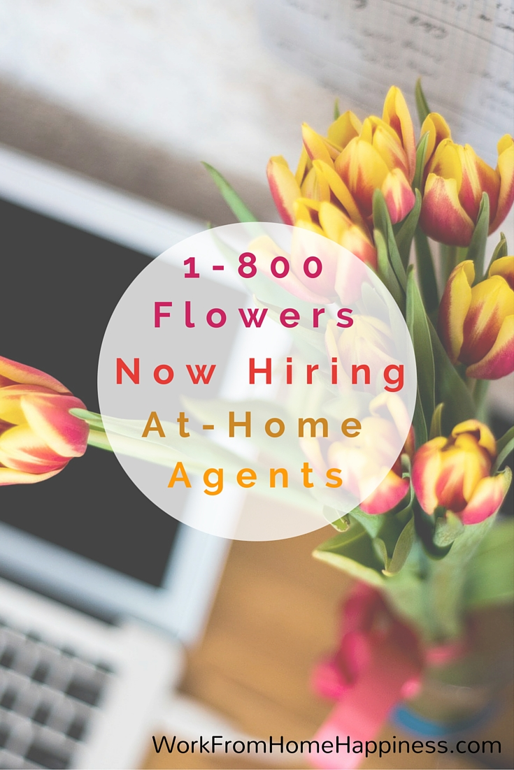 1800flowers work from home pay 1800flowers work from home application free sms tips for 3605