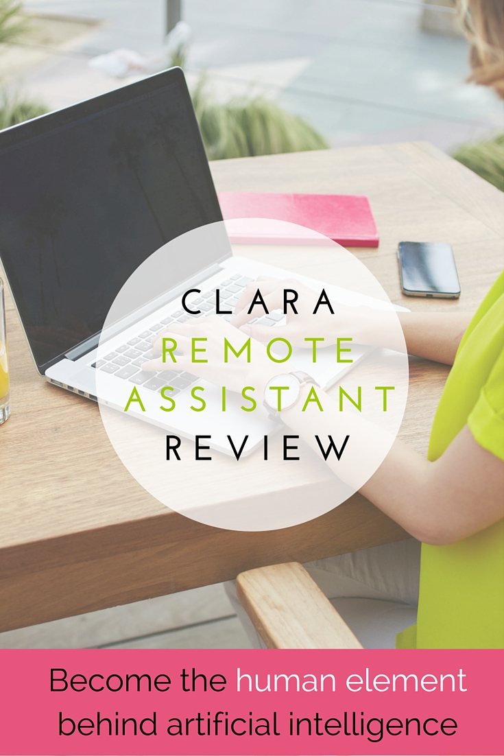 Work from home as a Clara Remote Assistant and become the human element behind artificial intelligence. Check out this Clara Remote Assistant Review to learn what it takes to become one and how you can earn a $50 bonus if you get hired!
