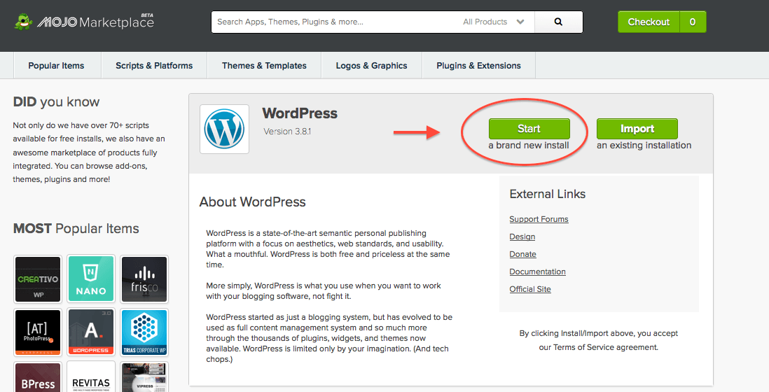 how to start a wordpress blog, how to start a bluehost blog