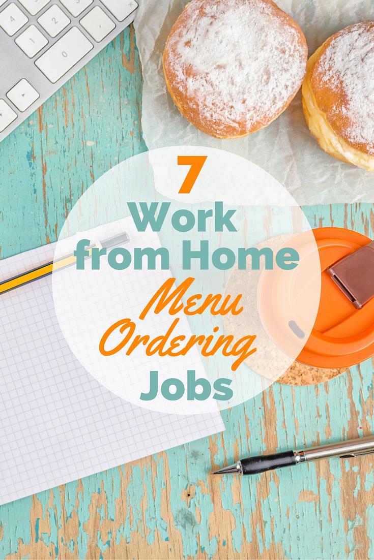 7 Work from Home Food Order Jobs | Work From Home Happiness