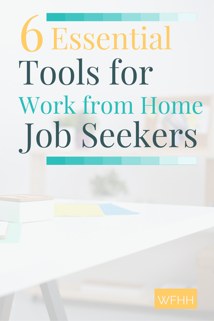 Are you looking to land a work from home job? You need to use these 6 essential tools that make it easier for work from home job seekers to find (legitimate) home-based jobs and get hired!