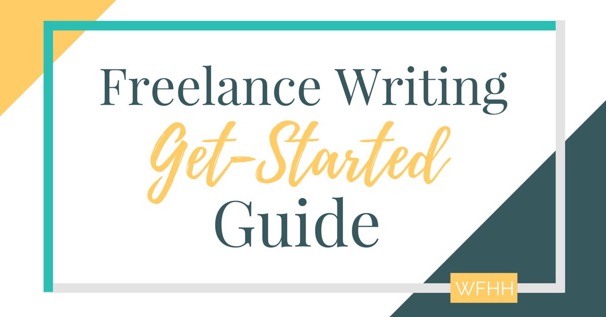 Because getting started is the hardest part: A get-started #freelancing writing guide for beginners.