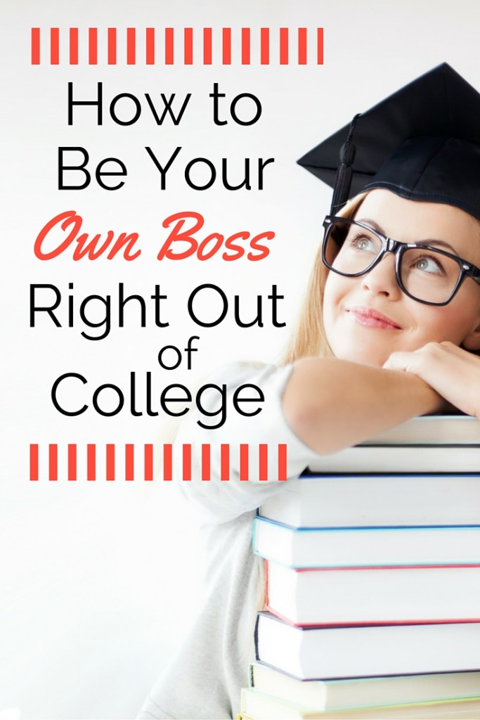 Instead of worrying about finding a job post-graduation, consider a career as a solopreneur or freelancer. Here's some tips and advice on how to be your own boss right out of college.