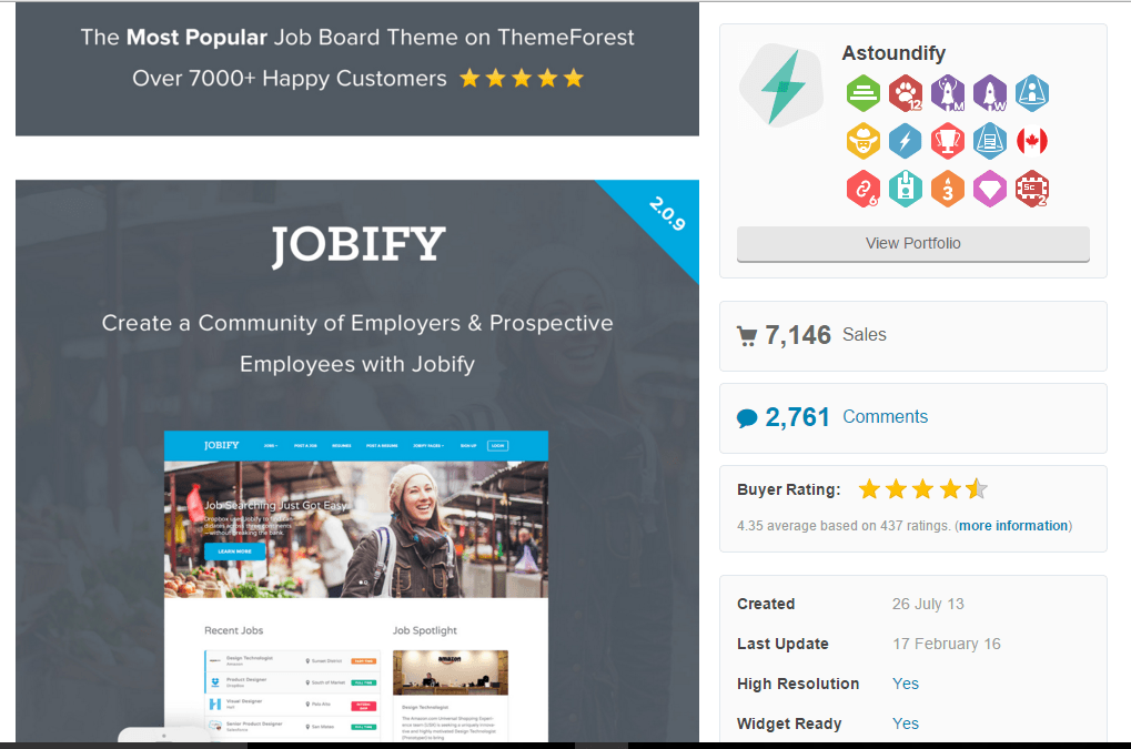 start a niche job board website