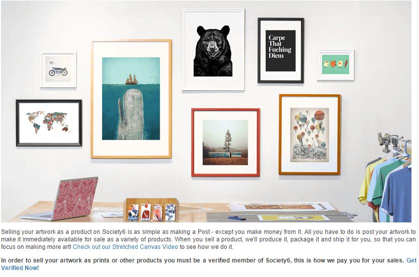 Sell Art Designs Online