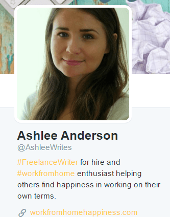ashlee anderson twitter profile