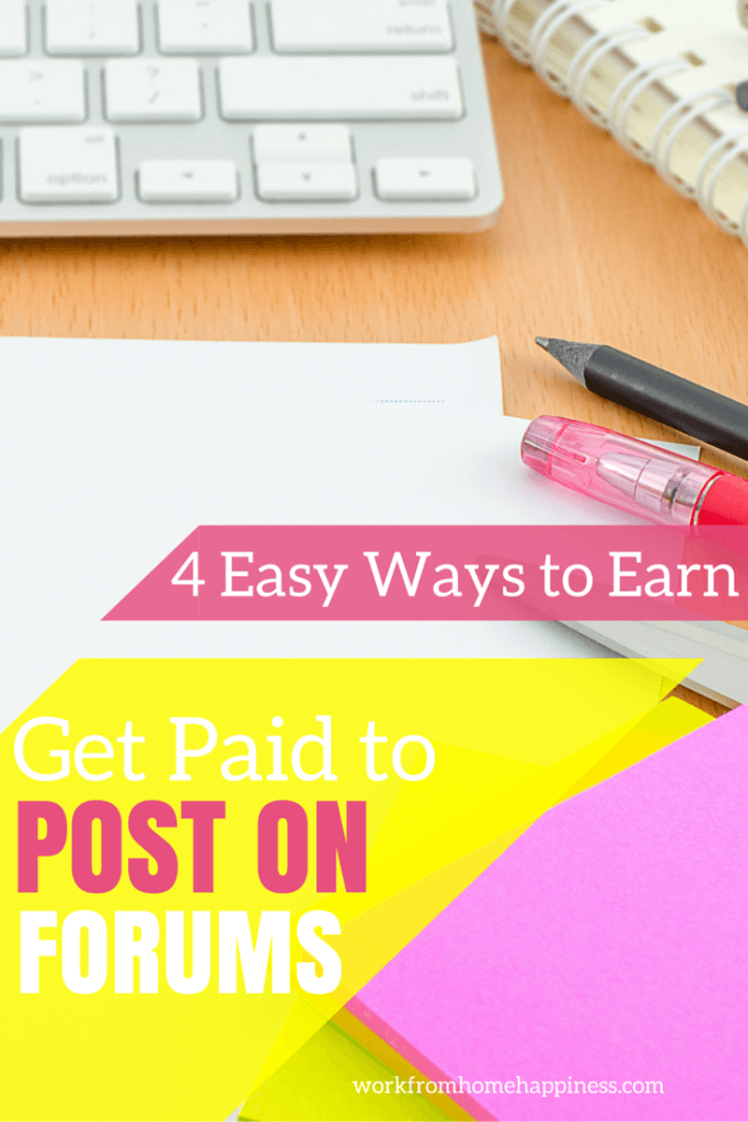 If you participate in discussion boards and enjoy being social, check out these ways to get paid to post on forums. This is an easy (and fun!) way to earn extra money online!