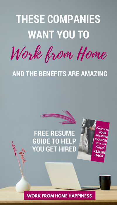 Full Time Work From Home Jobs With Benefits
