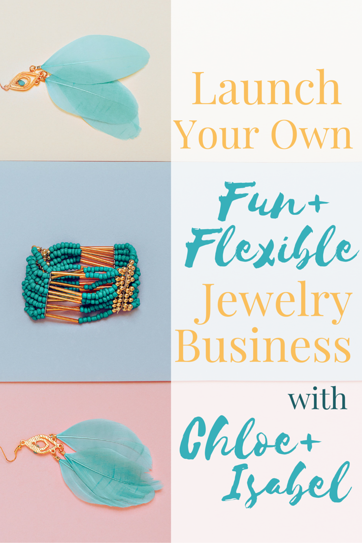 Work whenever, wherever -- Become the CEO of your own fashion business when you become a jewelry merchandiser with Chloe+Isabel.