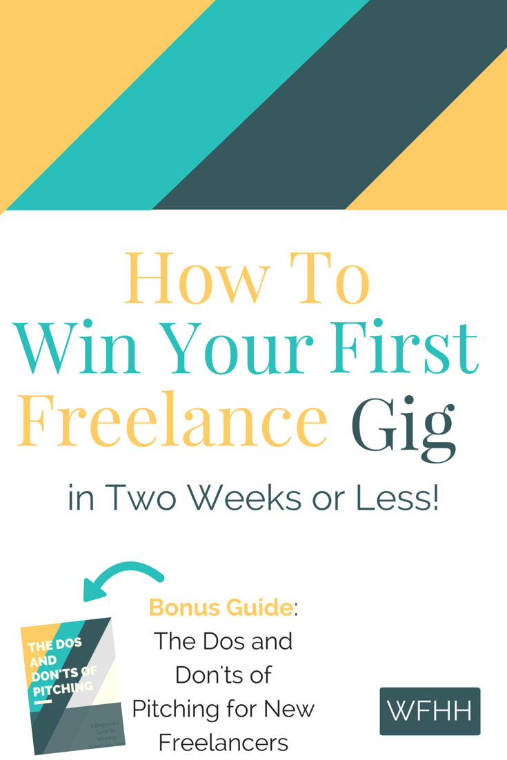 So, you realize how great freelancing can be, but just don't know where to start? No problem. This ultimate how-to guide will show you everything you need to do to land your first freelance gig in two weeks or less. Click through to find out how you can kick-start your freelance career today.