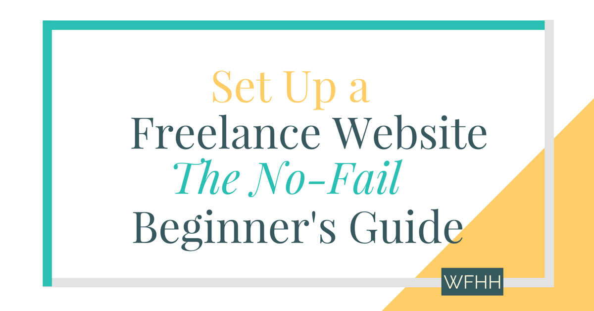 As a freelancer, you get to set your own hours, pick the projects you work on, and set your rates! If you're ready to join the freelance ranks, you'll need your own website to showcase your work. This no-fail beginner's guide will show you, step by step, how to create a freelance website that sells your services for you. Click through to learn how easy it is to set up your own freelance website. Plus, bonus guide of the best FREE WordPress portfolio themes for new freelancers!