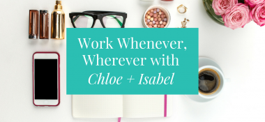 Work Whenever, Wherever as a Jewelry Merchandiser for Chloe+Isabel