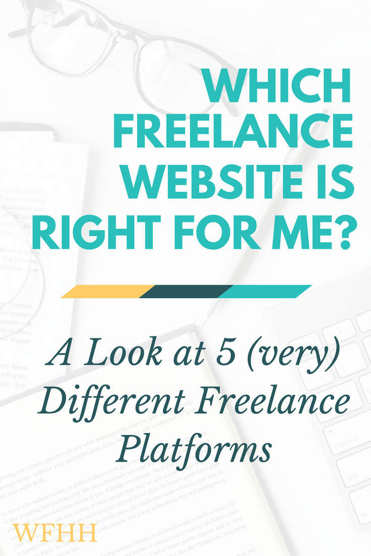 No two freelance websites are created equal -- find your favorite way to earn with these 5 (very) different platforms.
