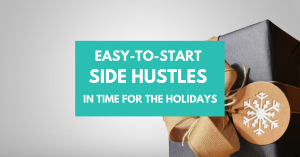 Balance Holiday Spending with a Side Hustle