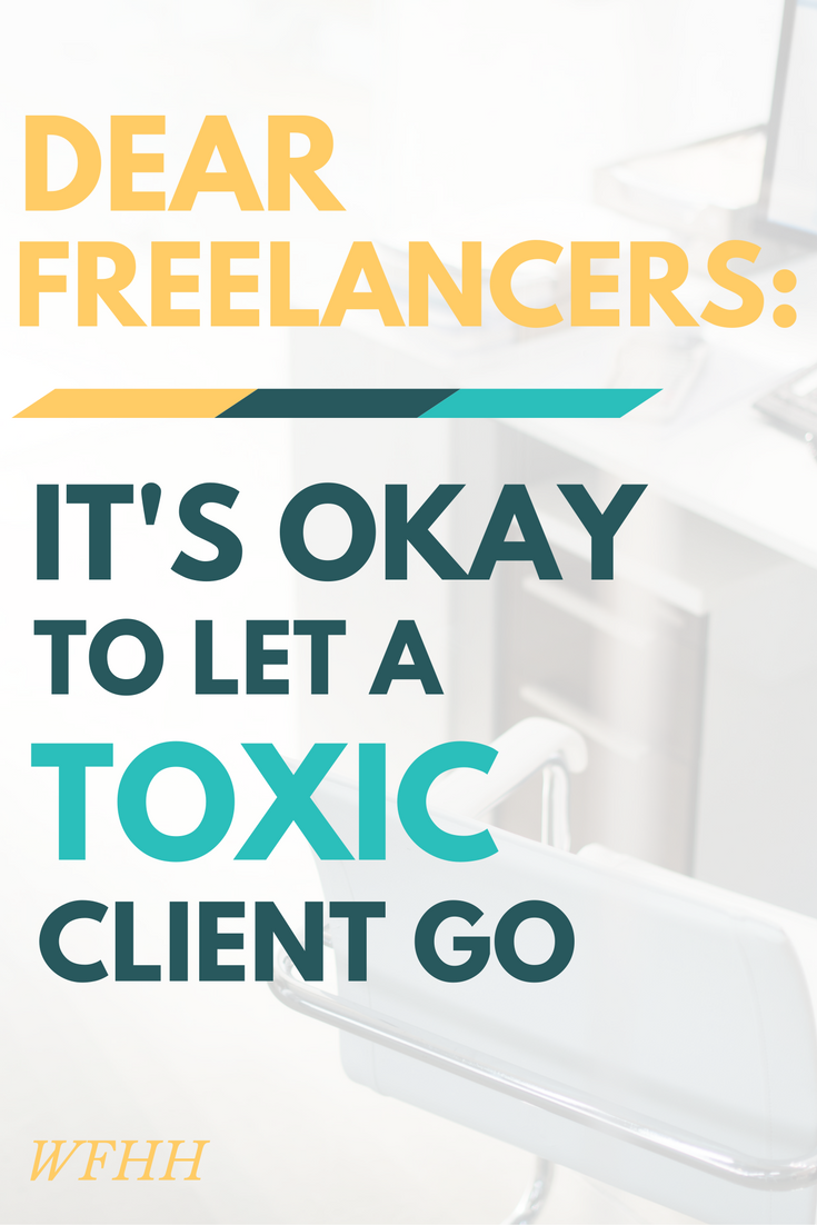 Freelancing can be tough. Dealing with a difficult client, makes things more difficult. Learn the warning signs of a toxic client and when it's okay to let them go!
