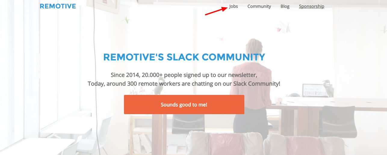 Simplify your work from home job search with Remotive.