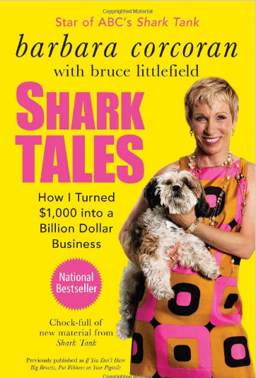 Shark Tales Girl Boss Book by Barbara Corcoran