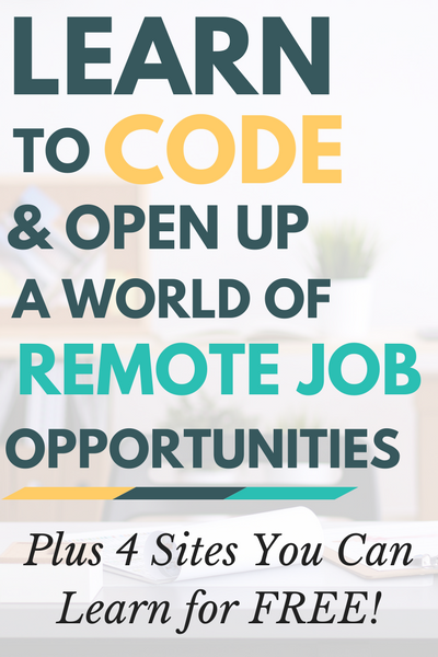 Learn to code, and open up a world of remote job opportunities! If you've been looking for an out-of-the-cube career, coding may very well be your ticket to work freedom. And the best part? You can learn to code for free! Here's how.