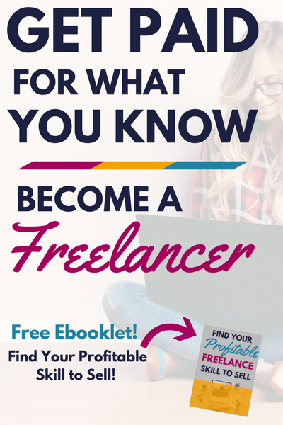Want to work from home? Become a freelancer and enjoy a location-independent lifestyle. This guide will show you how to find your profitable skill and get paid for what you already know as a freelancer!