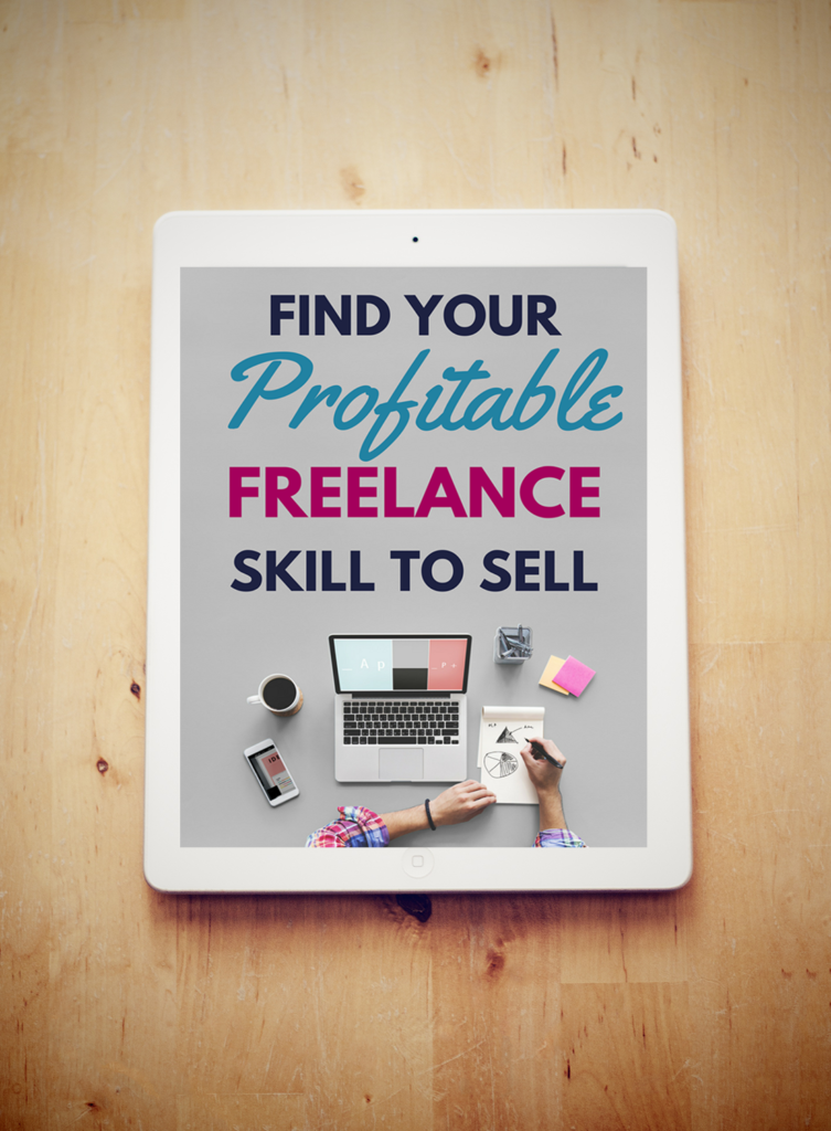 Become a freelancer! The fastest way to freelance success is to find your profitable skill that sells. Learn how you can get started selling your services when you become a freelancer!