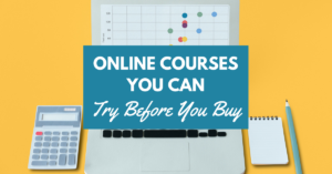 Online Courses You Can Try Before You Buy