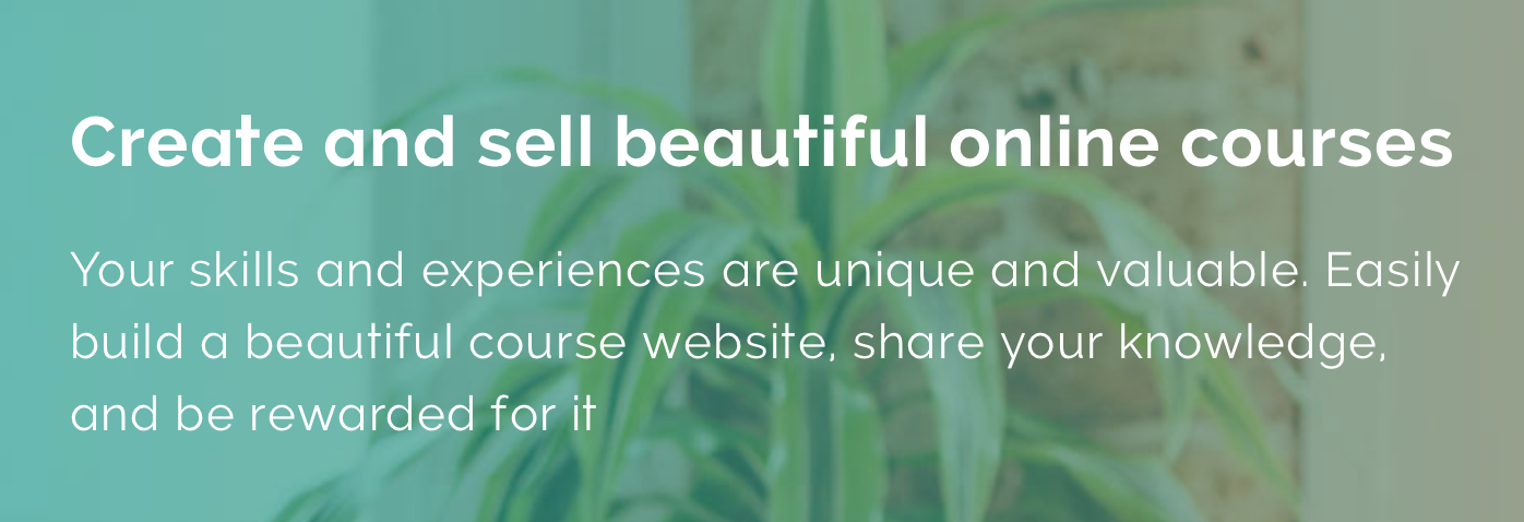 Make passive income online by creating an online course with Teachable.