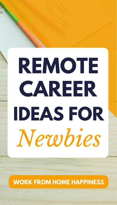 Want to work from home? Have no idea what remote careers are out there? This post is for you! Check out these remote career ideas for newbies.