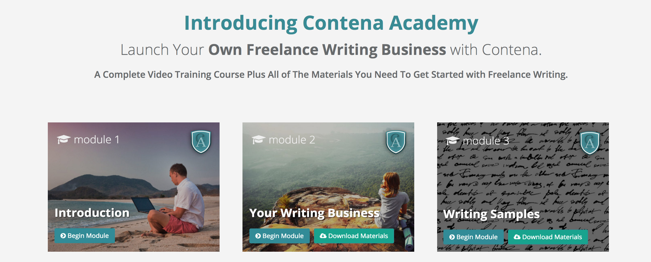 this website teaches you how to be e a freelance writer helps