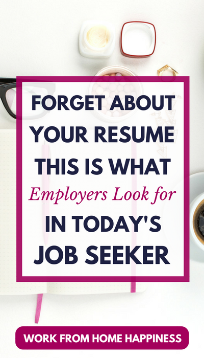 Are you looking for a work from home job? Quit focusing all your efforts on your resume. Today's job seekers need to work on their online presence. Here are personal branding tips for job seekers you need to make a great impression on today's employers.
