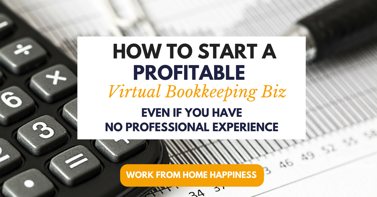 bookkeeping work from home how to become a work from home bookkeeper 7119