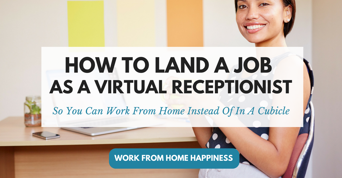 virtual work from home work from home receptionist jobs 488