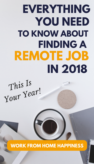 This is your year! Finally make sense of work from home jobs 2018 and kick your cubicle to the curb. Here's everything you need to know.