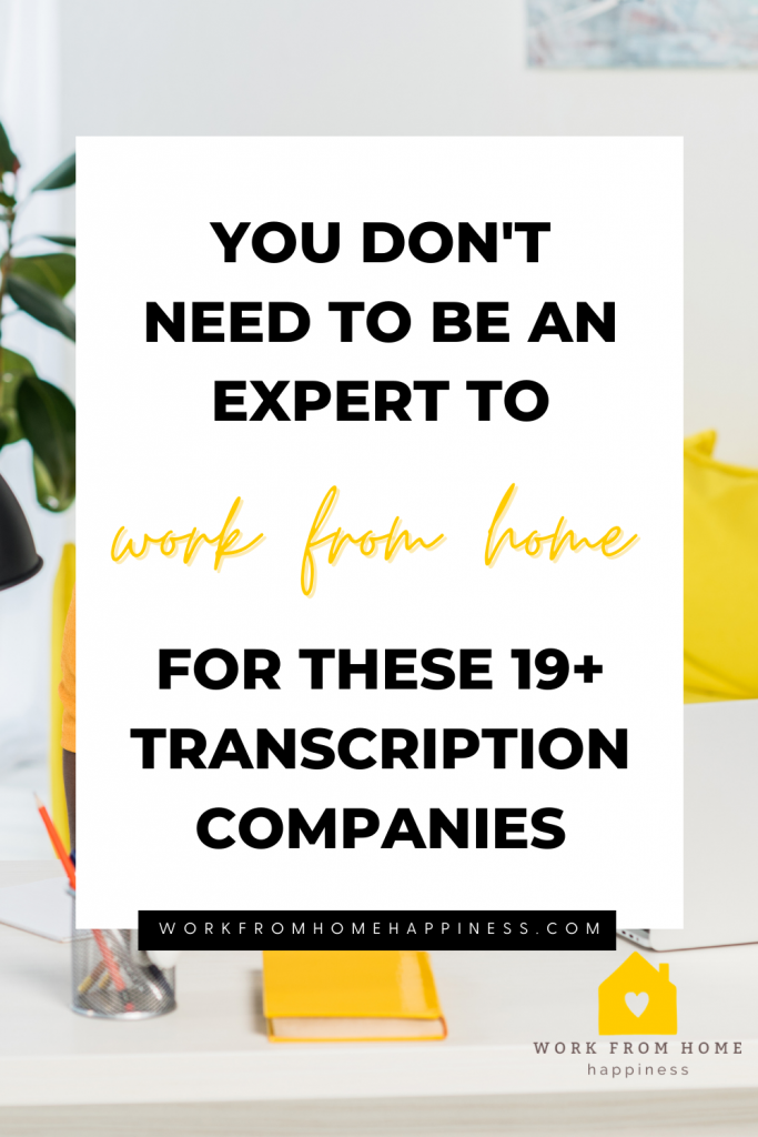 Looking for transcription jobs online? Look no further! These 19+ transcription companies will hire you to type from home, even if you have zero transcription experience!