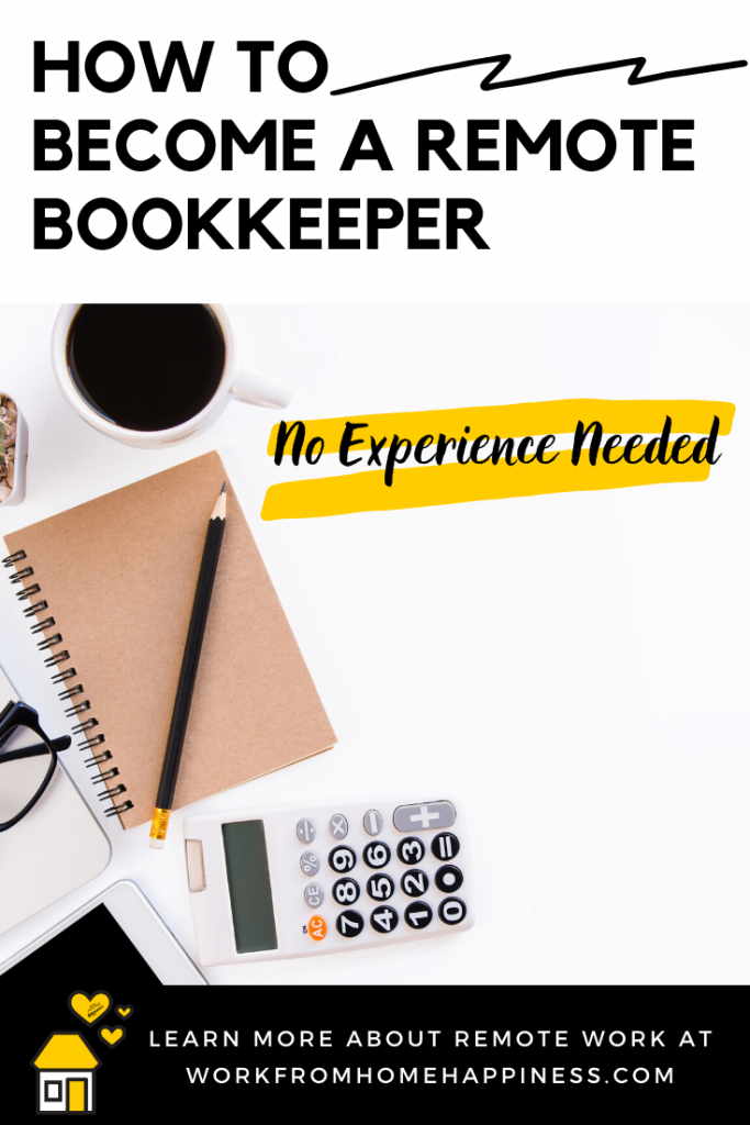 How to become a bookkeeper from home and earn up to $60 an hour! You don't need experience to become a work from home bookkeeper. Here's how to get started.